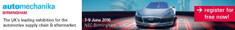 Automechanika Birmingham 2016
