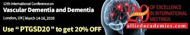 Vascular Dementia and Dementia 2019 | 14th to 16th March 2019 | London, UK