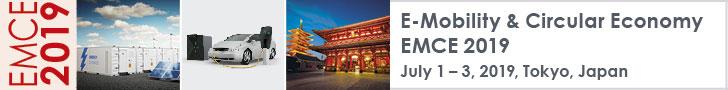 E-Mobility & Circular Economy EMCE 2019