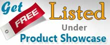 Get Listed Under Product Showcase for free...!