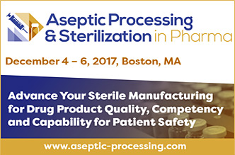Aseptic Processing & Sterilization in Pharma Summit 2017