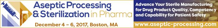 Aseptic Processing & Sterilization in Pharma Summit 2017